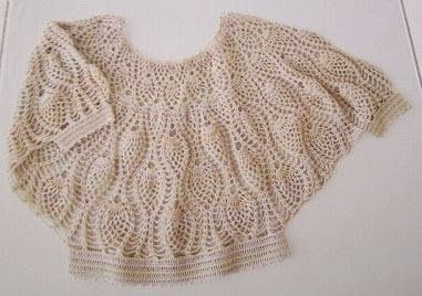 crochelinhasagulhas: crochet blouse