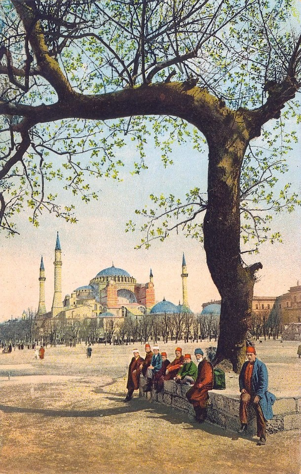Spring time in Ottoman İstanbul.  Wonderful, unforgettable times!