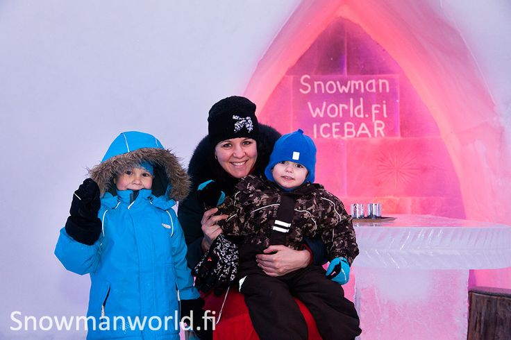 Snow fun for the whole family in Snowman World