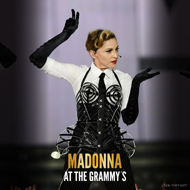See #Madonna perform at the 57th #Grammy Awards! #LiveNation