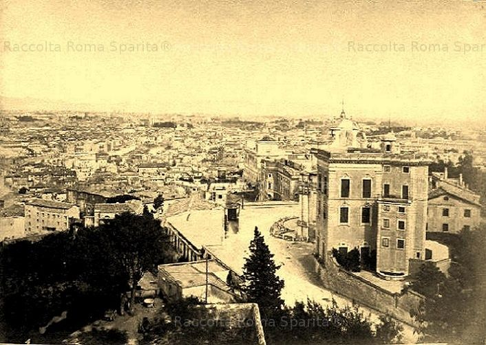Panorama dal Gianicolo Anno: 1871