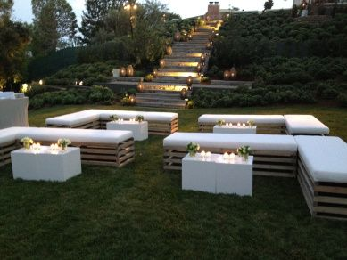 Out door lounge for wedding... If you're planning a wedding or event in Maui…