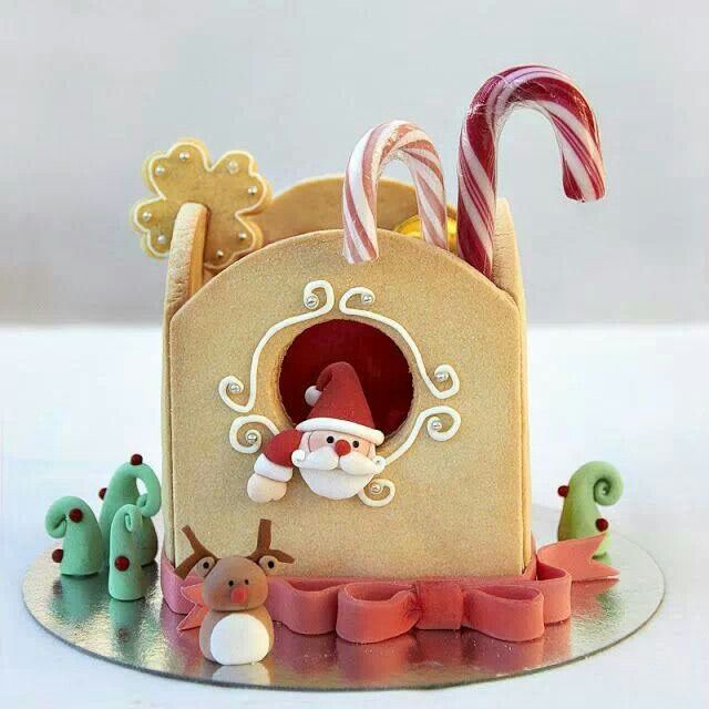 Santa little house