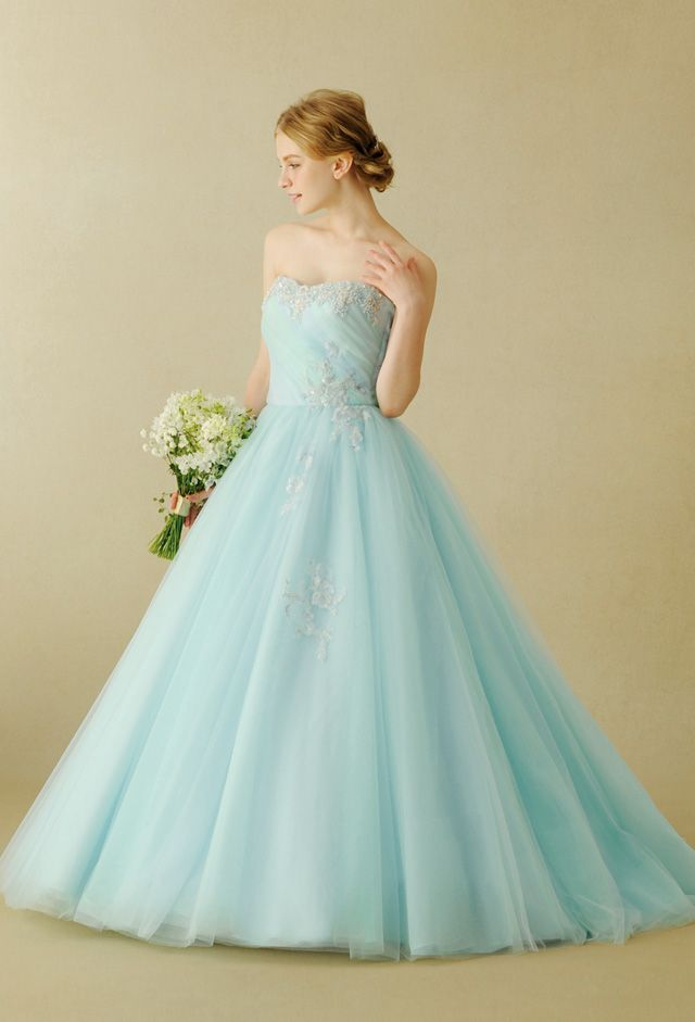 Blue Wedding Dress ~