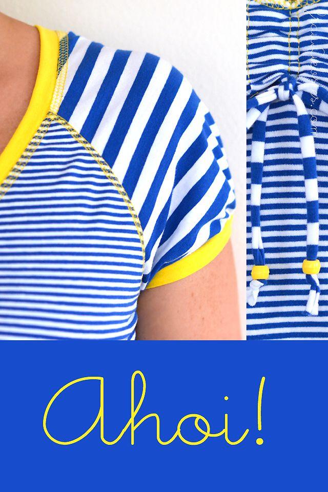 frau liebstes: mein v-shirt und ein mini-ergänzungs-tutorial #rums31
