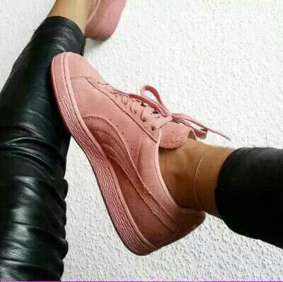Puma Suede Rose Look