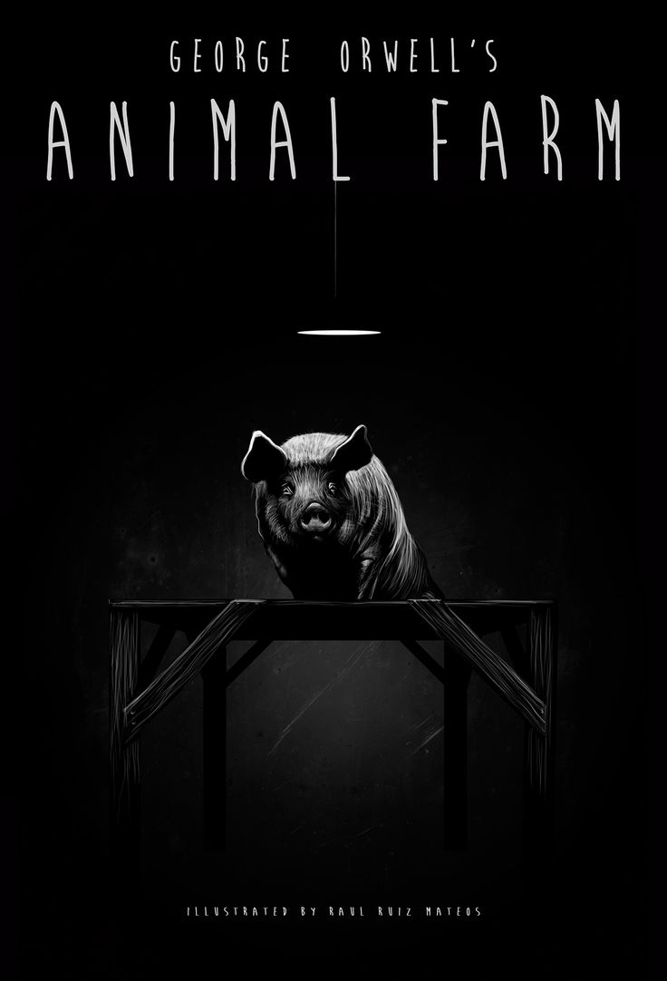"""an analysis of thesocial rank of animals in animal farm by george orwell Essay: animal farm by george orwell the definition of utopia is """"no place"""" a utopia is an ideal society in which the social, political, and economic evils afflicting human kind have been wiped out."""