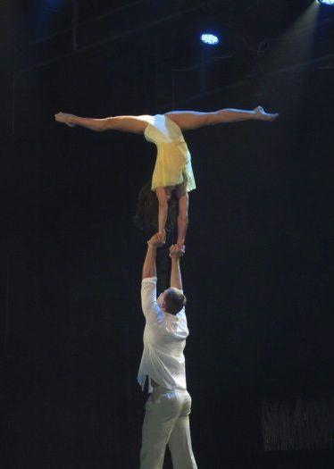 Aiusha Fonti - inspiration for Neve - performing.