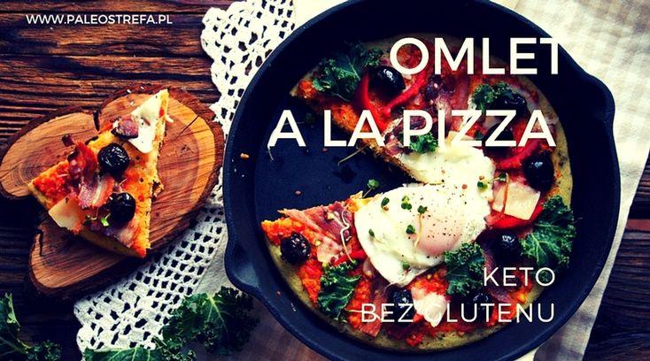 Omlet a la pizza (keto, bez glutenu)
