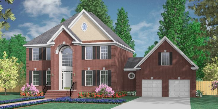 House Plan  D Hildreth D W Garage House Plans By Southern Heritage Home Designs
