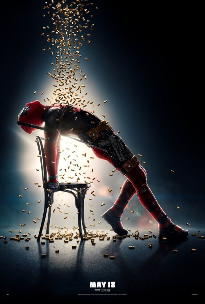 "Ryan Reynolds Reveals New Deadpool 2 Poster  Ryan Reynolds has shared a flashy new poster for Deadpool 2 in what is a tribute to the classic 1983 romantic drama Flashdance.  Reynolds revealed the poster on Twitter and it features Deadpool arching back against a chair with bullets raining down on him taking heavy inspiration Flashdance's iconic poster. Reynolds also tweeted the famous tagline from the 1983 film to accompany the image:""Take your passion. And make it happen.""   New Deadpool 2…"