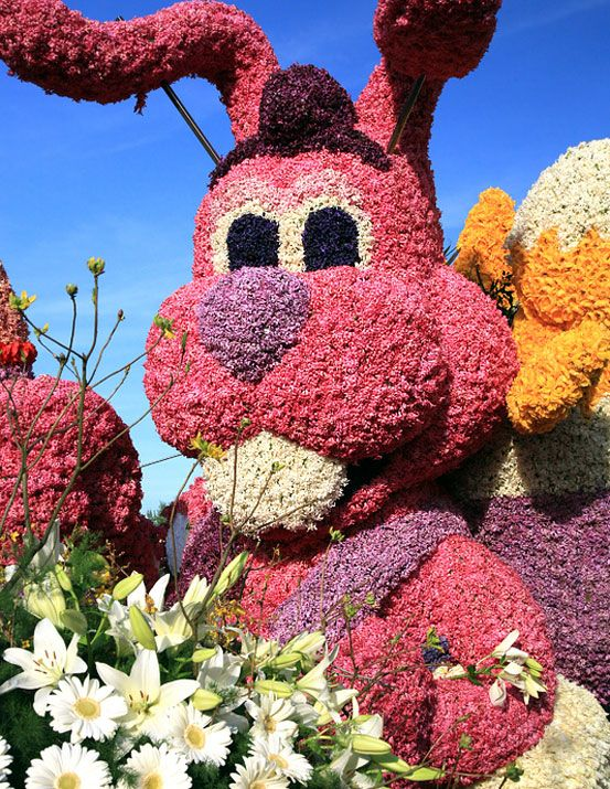 "Bloemencorso is a Dutch word meaning ""flower parade."" In the springtime, usually from about mid to late-April,"