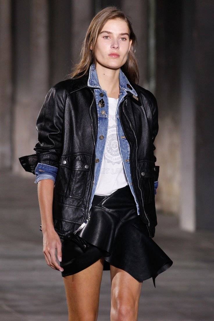 See detail photos for Saint Laurent Spring 2017 Ready-to-Wear collection.