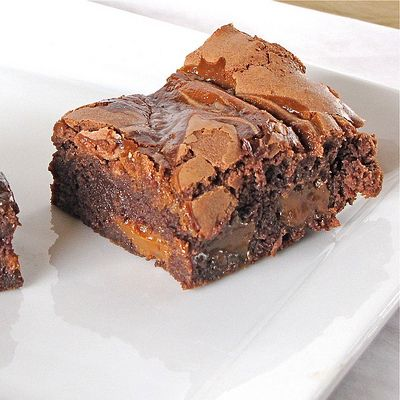 Dulce de Leche Brownies: hands down the best brownies I've ever made. Recipe from David Lebovitz.