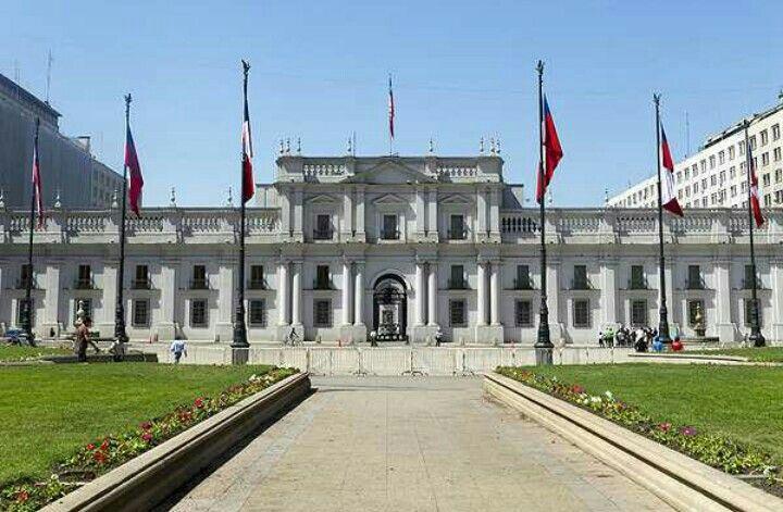"""Palacio : """" La Moneda"""", Chile"""