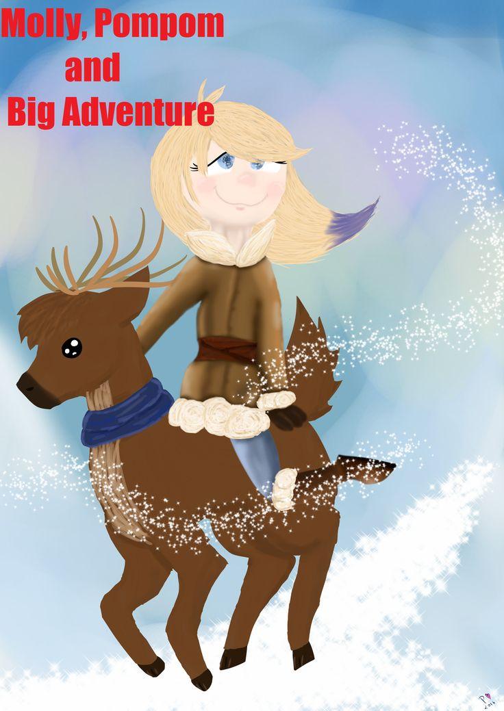 Molly Pompom and BIG adventure by NameruTsunemi  (so cute~!)