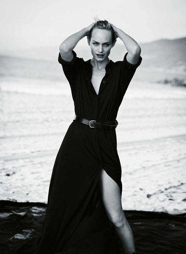 Amber Valletta by Peter Lindbergh - Zeit Magazine, February 2015.
