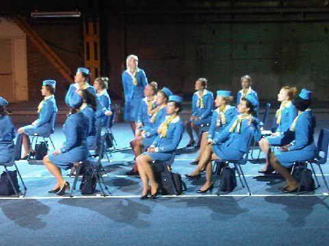 Stewardessen pakjes