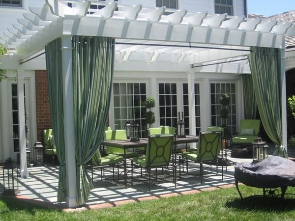 Pergola canopy and pergola covers are a necessity which provides the comfort of using the outdoor space at any time of day and have a good sun