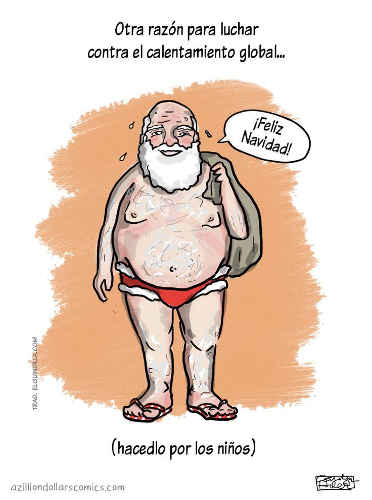 Razón para luchar contra el calentamiento global. #humor #risa #graciosas #chistosas #divertidas