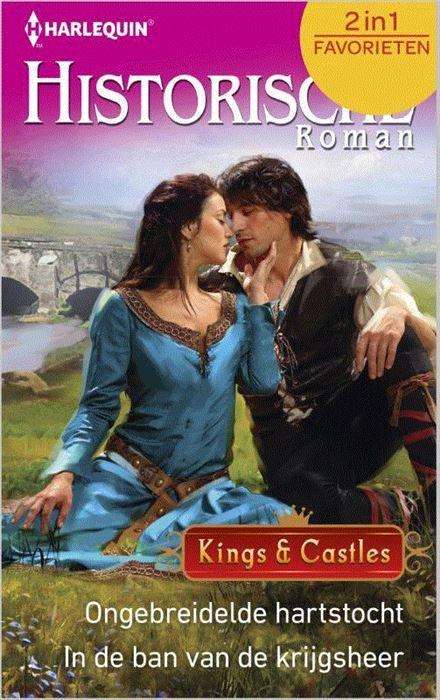 Ongebreidelde hartstocht ; In de ban van de krijgsheer  (1) ONGEBREIDELDE HARTSTOCHT - Er wordt gefluisterd dat Sir Blaidd Morgan elke vrouw kan krijgen. Niemand kijkt er dus van op wanneer hij een poging doet de schone - maar ongenaakbare - Lady Laelia van Throckton Castle te veroveren. Wat weinigen weten is dat zijn avances slechts een dekmantel zijn voor een onderzoek in opdracht van de koning. Maar Blaidd is nog niet op het kasteel of hij ziet zijn missie in het water vallen. Door een…