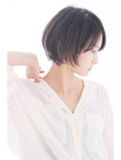 エトネ ヘアーサロン 仙台駅前(eTONe hair salon)《eTONe》ナチュラルショートボブ