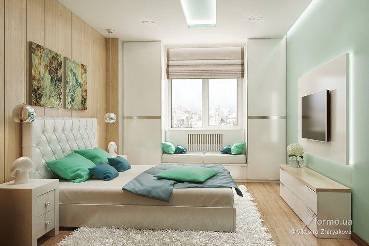 imgplusdb.com / дизайн спальной комнаты для молодой пары
