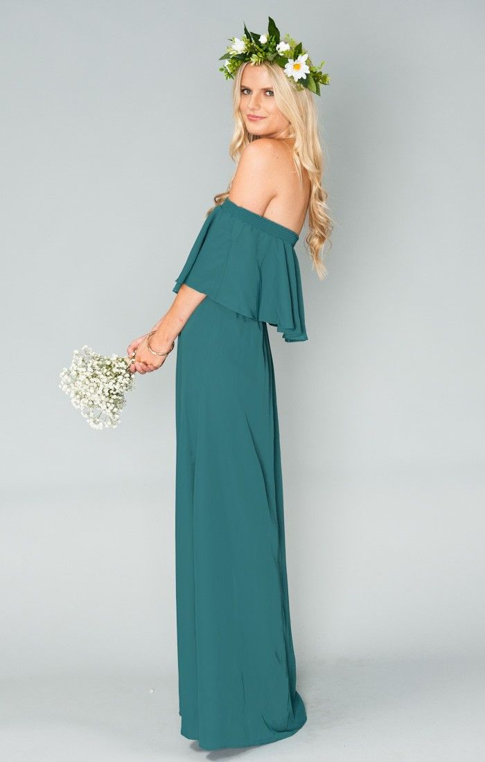 Galerry party dress green