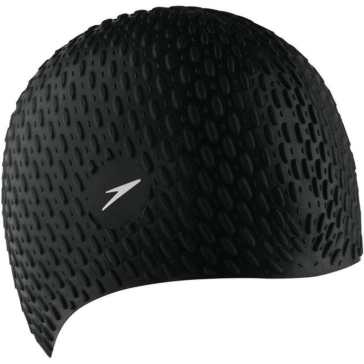 Speedo Bubble Silicone Cap