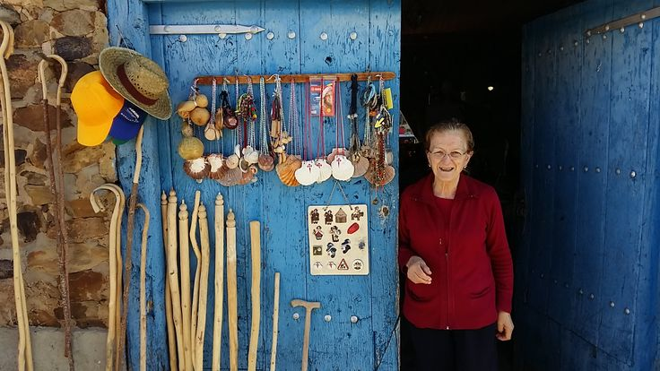 Buy your equipment of the Camino at the house of this beautiful lady! Camino de Santiago Cycling