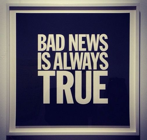Miami Art Basel 2013 (With images) Bad news, Lettering