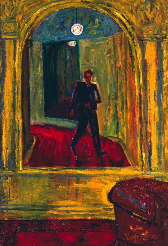 Self-portrait, Józef Czapski (April 3, 1896 — January 12, 1993), painter and…