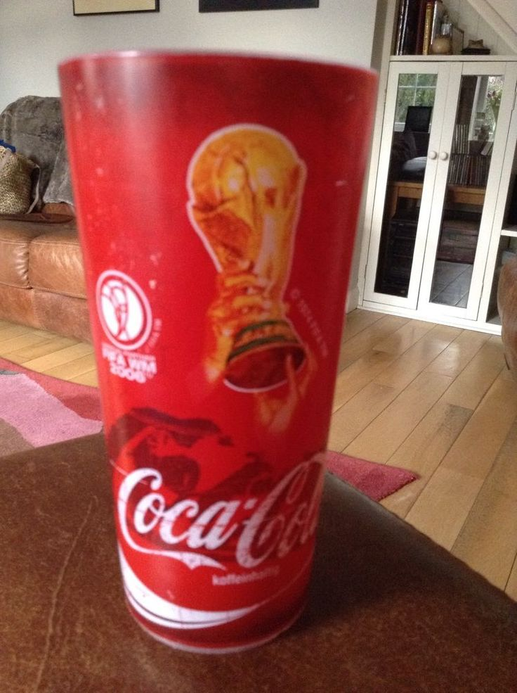 Coca Cola Official FIFA 2006 World Cup Germany 0.41 Very Rear Plastic Glass  | eBay