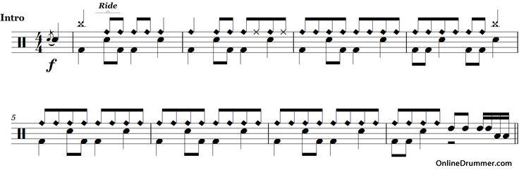 Drum drum tabs boulevard of broken dreams : Drum : drum tabs for boulevard of broken dreams Drum Tabs For or ...
