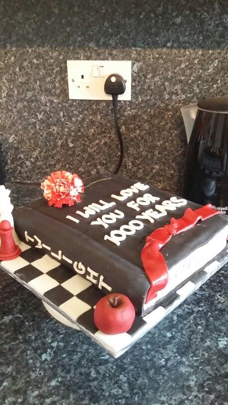 Twilight cake x