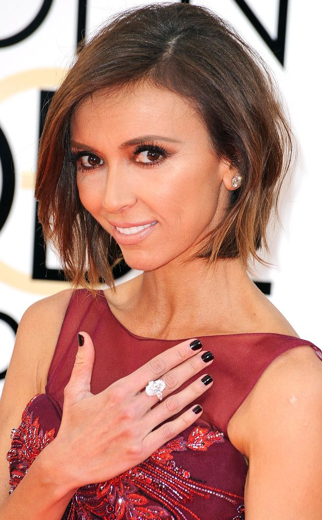 2014 from Giuliana Rancic's Hair Through the Years  Bob's the word for Giuliana at the 2014 Golden Globes.
