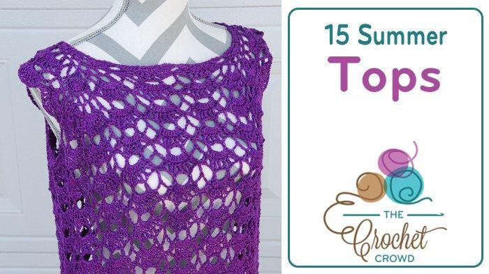 15 Crocheted Summer Tops
