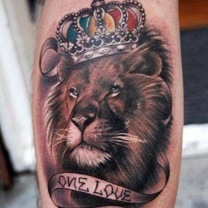 Тату лев — значение для девушек и парней (фото, эскизы, видео)