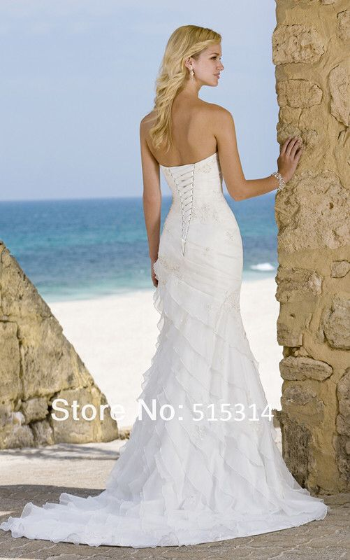 2013 Best Selling Wedding Dresses Gowns Custom Made Free Shipping Bs5