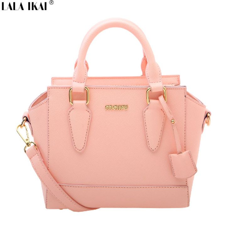 Find More Crossbody Bags Information about LALA IKAI New Arrival Trapeze Bags for Women Candy Color Women Bag with Letters Quality Women Leather Handbags Ladies BWB0685 6,High Quality Crossbody Bags from IKAI Modern Times Bag Store on Aliexpress.com