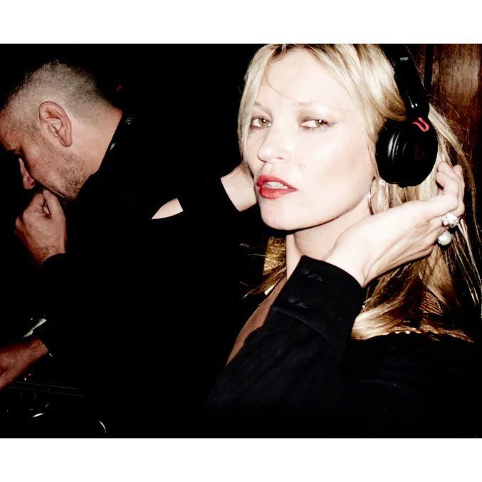 KATE IN THE DJ BOOTH