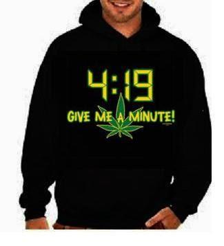 Hoodie 4:19 give me a minute Hooded Sweatshirt hoodie screen