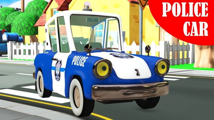 Cars videos for kids - blue police car and milk delivery truck. Educational 3D animation featuring cars for kids, such as police car and milk delivery truck.  #carsforkids  #cartoonsforkids #kidsvideos