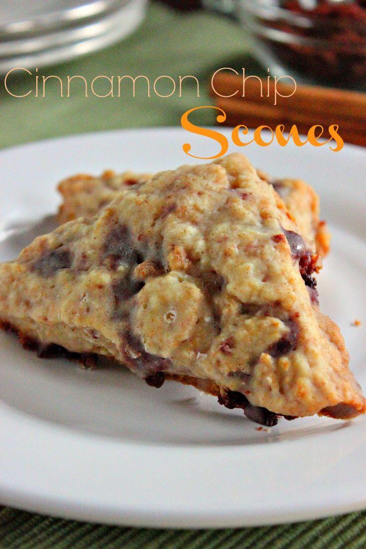 Panera bread copycat Cinnamon Chip Scones recipe