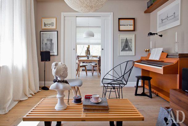 Квартира в скандинавском стиле в Москве, 85 м²   AD Magazine