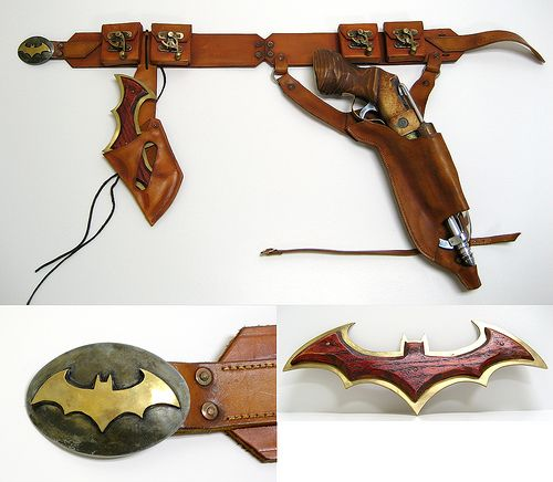 ideal. LOVE the wooden/metal batarang. amazing