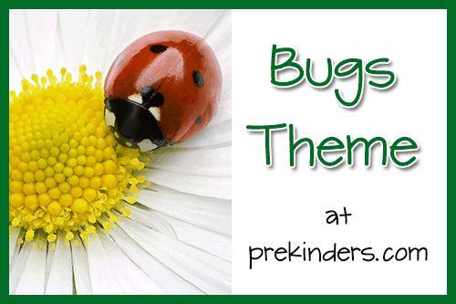 bugs activities for preschool, color bugs printable book