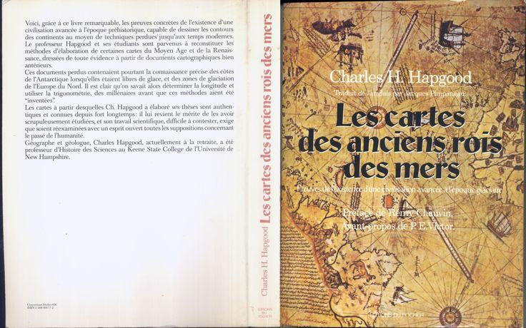Cartes des anciens rois des mers, Hapgood, ed. du Rocher 1981