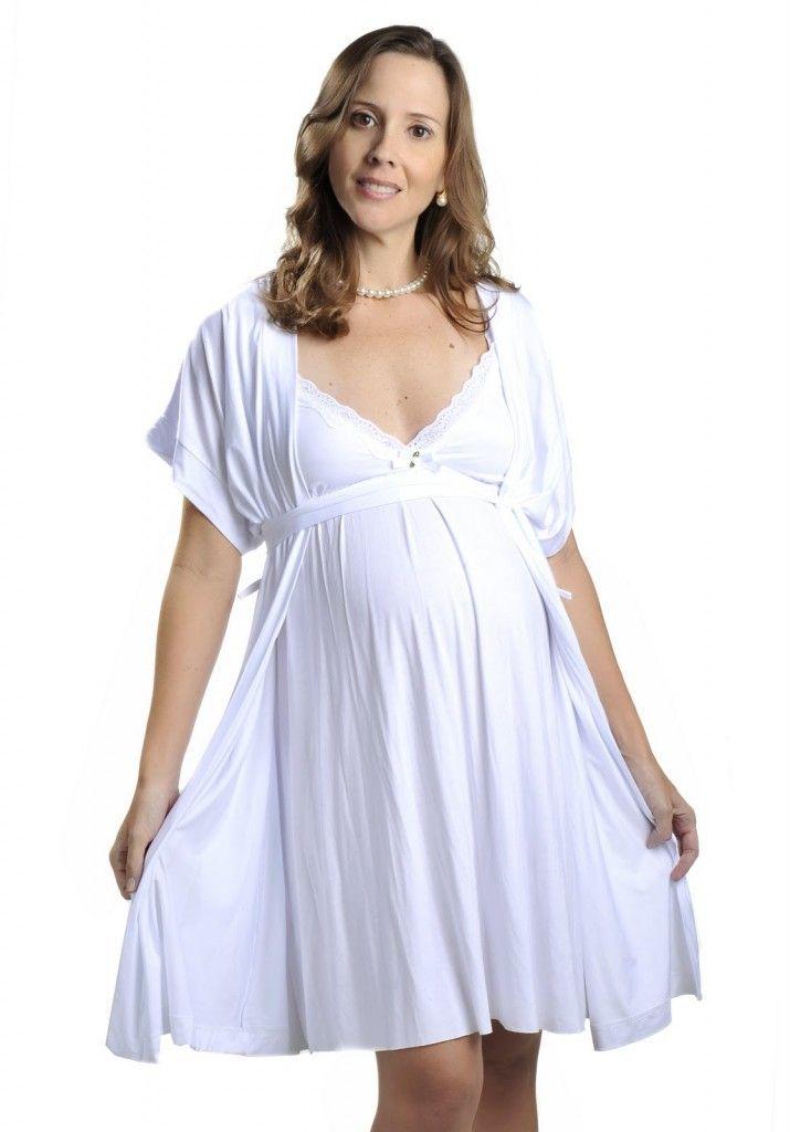 dicas de camisola para maternidade