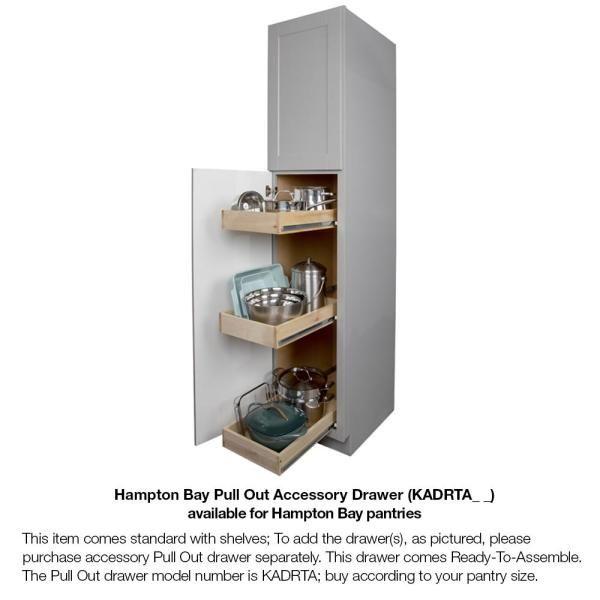 Pantry Kitchen Cabinet, Assembled Kitchen Pantry Cabinet